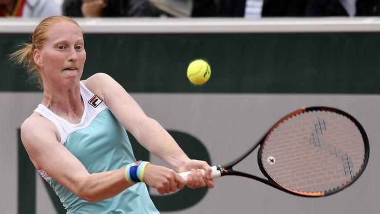 WTA w Taszkencie: Wygrana Belgijki van Uytvanck