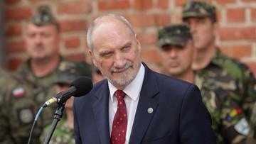 Macierewicz: to wielki dzień w wymiarze bezpieczeństwa i współdziałania z USA
