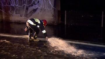 Burze nad Polską. Gospodarstwa bez prądu, setki interwencji strażaków