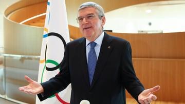Tokio 2020: Odwołano wizytę szefa MKOl w Japonii