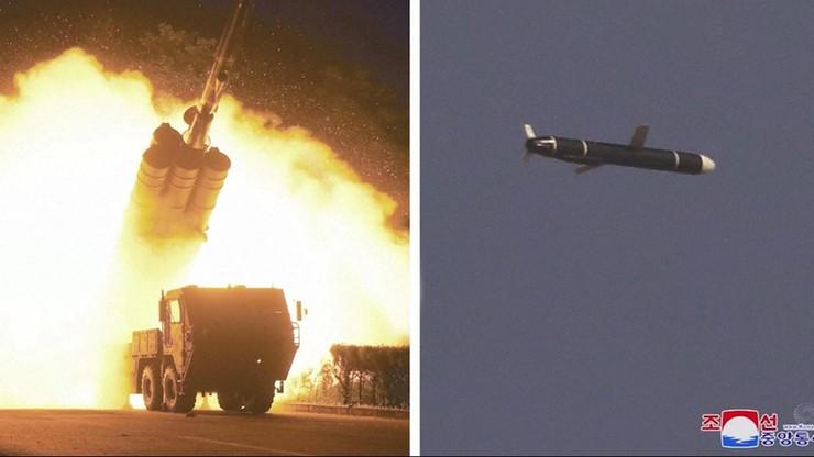 Korea Północna. przeprowadziła testy pocisków manewrujących dalekiego zasięgu