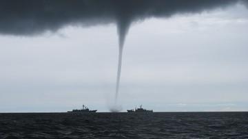Trąby wodne nad Bałtykiem. Dwie w krótkim czasie