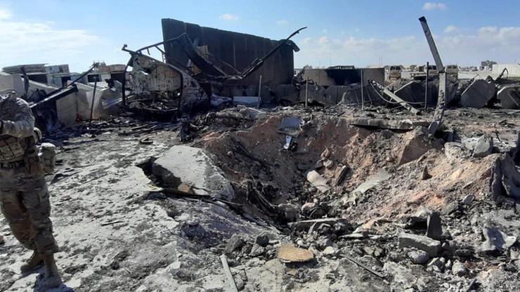 Po ataku na amerykańskie bazy w Iraku do szpitala trafiło 11 żołnierzy