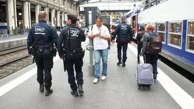 Groziła, że wysadzi się w powietrze. Akcja policji na dworcu w Lyonie