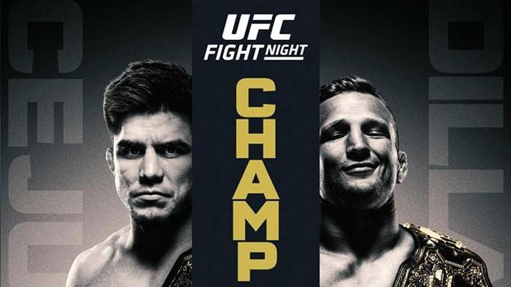 UFC Fight Night: Cejudo vs Dillashaw. Karta walk
