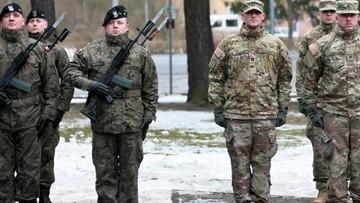 """""""Czarna Dywizja"""" powitała amerykańskich żołnierzy w Żaganiu"""