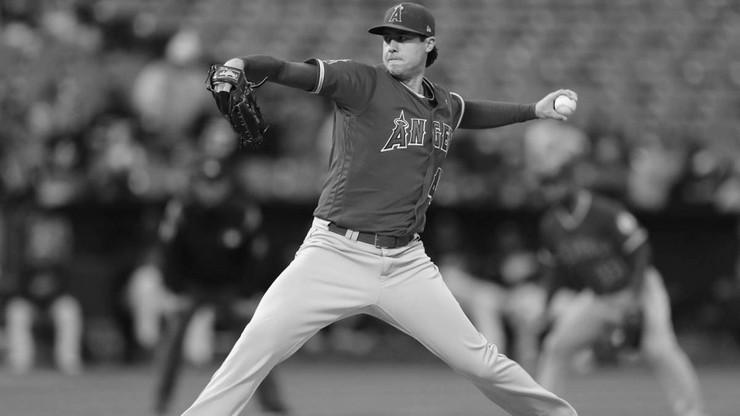 Baseballista Los Angeles Angels zmarł przed meczem