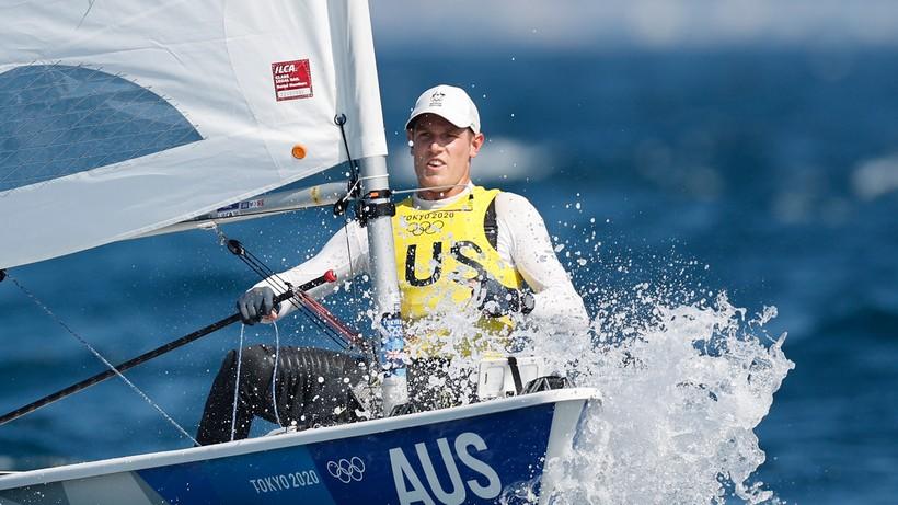 Tokio 2020: Matthew Wearn najlepszy w żeglarskiej klasie Laser Standard