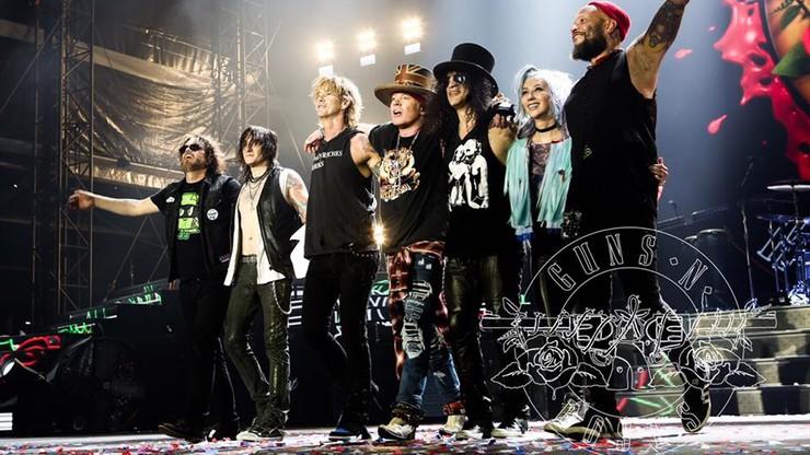 Koncert Guns N' Roses w Gdańsku. Organizatorzy spodziewają się 40 tys. osób