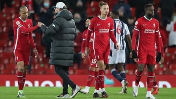 Premier League: Wpadka Liverpoolu na Anfield. West Bromwich Albion znowu zaskoczyło