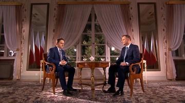 Prezydent w Polsat News: decyzja ws. Fort Trump podjęta. Zostały kwestie techniczne