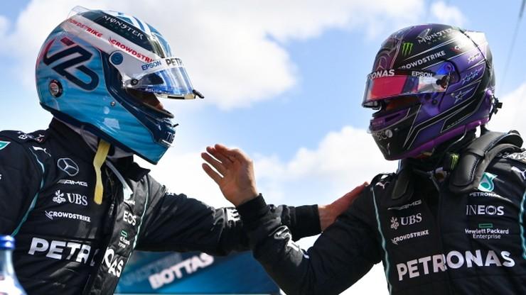 GP Portugalii: Bottas z pole position. Wyprzedził Hamiltona o 0,007 s (WIDEO)