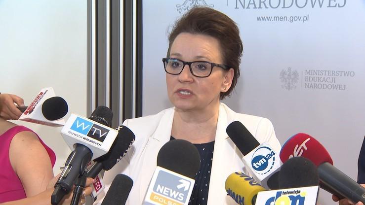 Sejmowa komisja negatywnie o wniosku o odwołanie minister edukacji narodowej