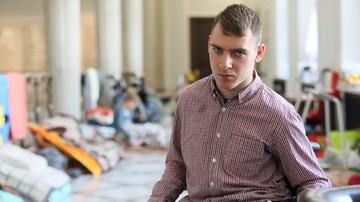 Jakub Hartwich, znany z protestu osób niepełnosprawnych w Sejmie, będzie radnym Torunia