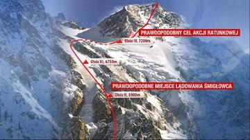 Ekipa ratunkowa spod K2 jest już na Nanga Parbat. Idą po Mackiewicza i Revol. Polak spędził noc w namiocie na wysokości 7250 m