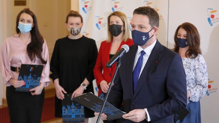 Trzaskowski: wystąpiłem o nadanie pasażom w centrum Warszawy nazwisk wybitnych kobiet