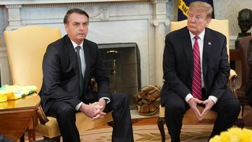 USA: Trump rozważa nadanie Brazylii statusu podobnego do państw NATO