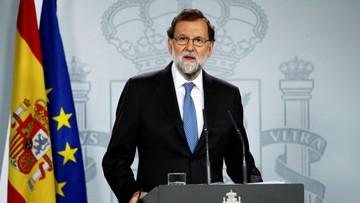 Nie ma zgody na secesję. Hiszpański rząd oficjalnie przejął władzę w Katalonii