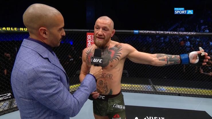 UFC 257. Conor McGregor: Muszę otrzepać się z kurzu