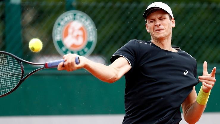 Challenger Poznań Open: Hurkacz zagra o drugą rundę
