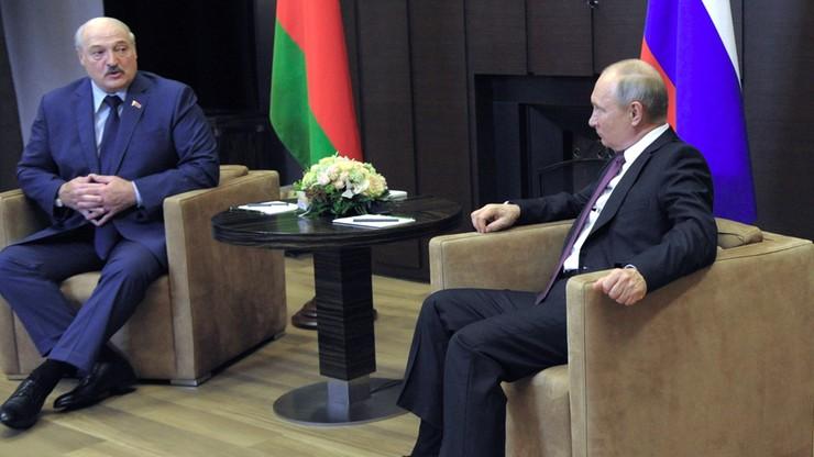 Spotkanie Putin- Łukaszenka. Rozmawiali o incydencie z samolotem Ryanair