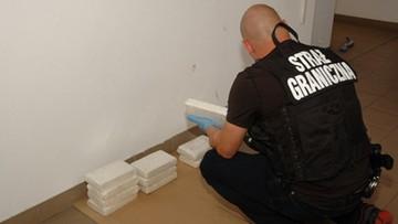 Litwin przewoził 12,5 kg kokainy o wartości 5 mln zł. W mercedesie miał specjalne skrytki