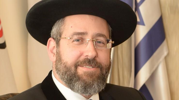 Naczelny rabin Izraela prosi o przedłużenie szabasu z powodu Eurowizji