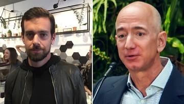 Dadzą pieniądze na walkę z epidemią. Założyciel Twittera 28 proc. majątku, Amazona 0,1 proc.