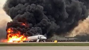 """""""Ratownicze przedszkole"""". Polski pilot o akcji ratunkowej po katastrofie na lotnisku w Moskwie"""