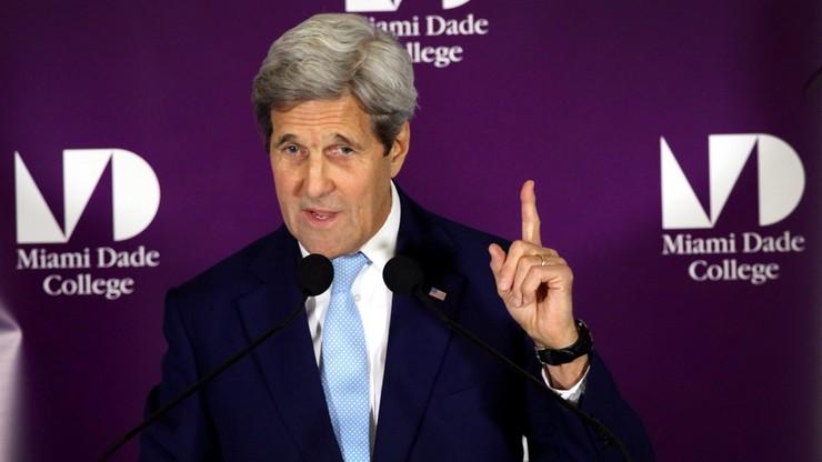 Kerry: Rosja powinna wywrzeć presję na Asada ws. przestrzegania rozejmu