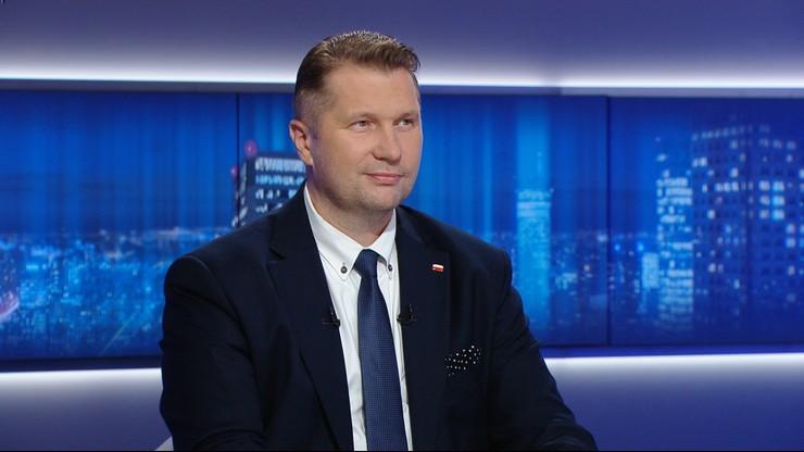 Minister edukacji i nauki Przemysław Czarnek: Przewiduję, że dzieci wrócą do szkoły na cały rok