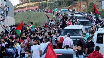 Antyizraelskie demonstracje w Iraku i Libanie