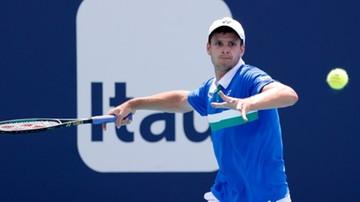 ATP w Monte Carlo: Hubert Hurkacz - Thomas Fabbiano. Transmisja w Polsacie Sport