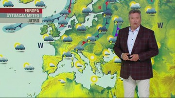 Prognoza pogody - środa, 23 czerwca - popołudnie