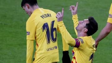Pięć goli w Bilbao. Barcelona lepsza po golach Messiego i Pedriego
