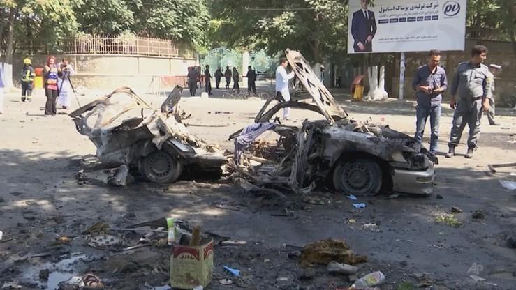 Rośnie bilans zabitych i rannych w wybuchu koło uniwersytetu w Kabulu