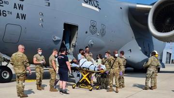 Poród z komplikacjami w samolocie ewakuacyjnym. Afganka uciekała przed talibami