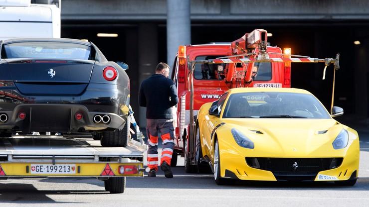 Ferrari syna prezydenta Gwinei Równikowej na lawecie. 11 luksusowych aut zarekwirowanych