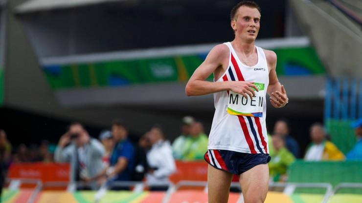 Sondre Nordstad Moen przebiegł 21 kilometrów w godzinę. Nowy rekord Europy