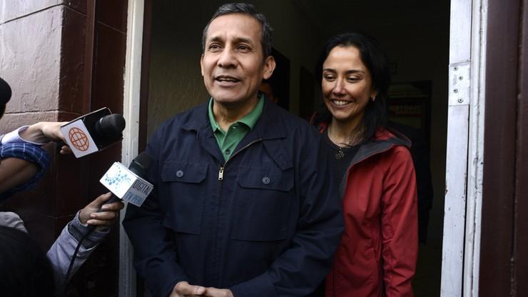 Były prezydent Peru i jego żona aresztowani pod zarzutem korupcji