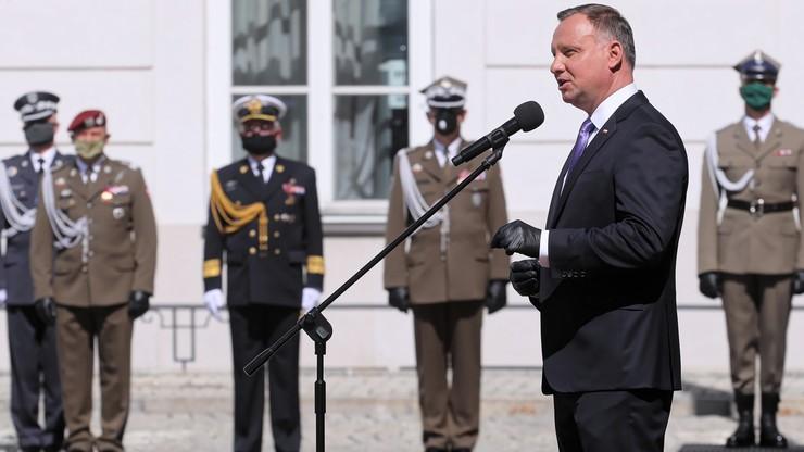 Prezydent wręczył nominacje generalskie