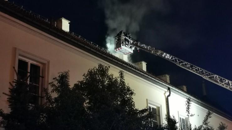 Ogień został ugaszony około godz. 1 w nocy z soboty na niedzielę.