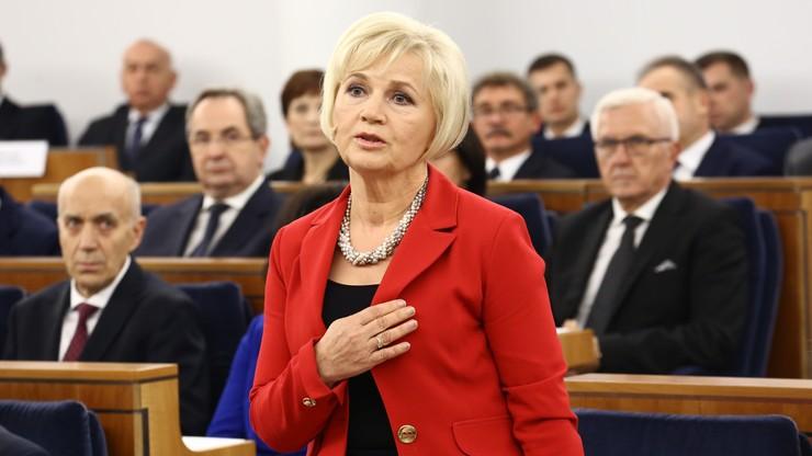 Lidia Staroń kandydatką PiS na Rzecznika Praw Obywatelskich