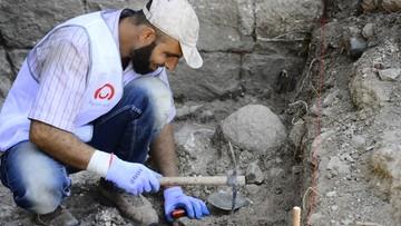 Syryjscy uchodźcy pomogli polskim archeologom w Libanie odkryć pałac i dwa zamki