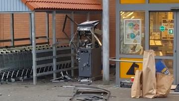 Wysadzili bankomat. Padły strzały
