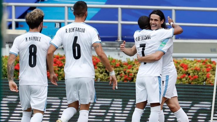 El. MŚ 2022: Pewna wygrana Urugwaju z Kolumbią. Urugwajskie gwiazdy z golami