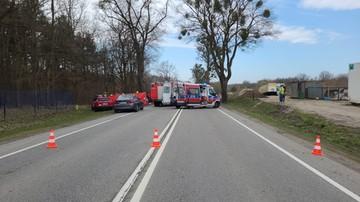 Wypadek w Zabagnie. Zginęły trzy osoby, jedna została ranna