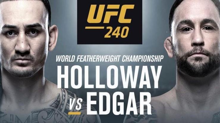 UFC 240: Karta walk z udziałem Polaka