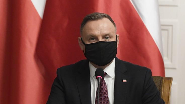 Spotkanie prezydenta z premierem ws. strategii szczepień