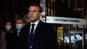 Macron zapowiada wzmocnienie bezpieczeństwa szkół